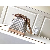 LV Louis Vuitton WOMEN'S DAMIER CANVAS NOE BB HANDBAG SHOULDER BAG