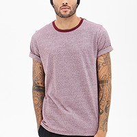 Pinstriped Ringer Tee