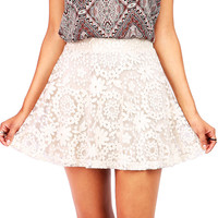 Barcelona Floral Overlay Skirt | Skirts at Pink Ice
