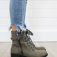 Edge Of Seasons Boots - Charcoal