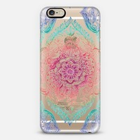 Indian Ink - Rainbow Version - Transparent iPhone 6 case by Micklyn Le Feuvre | Casetify
