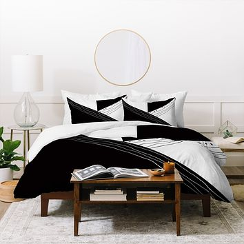 Viviana Gonzalez Black and white collection 02 Duvet Cover