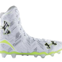 Under Armour Highlight Lacrosse Cleats 2016 - White/Silver | Lacrosse Unlimited