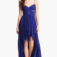 Hailey Logan Cutout High/Low Gown (Juniors) (Online Only)