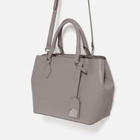 CITY BAG WITH ZIPDETAILS