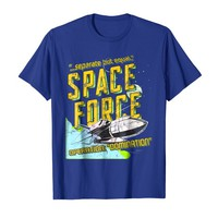 Space Force T-shirt, Vintage Look, Separate But Equal