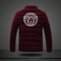 SPBEST versace RED velvet jacket