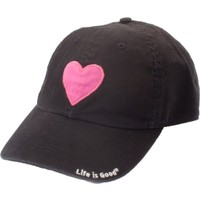 Life is Good Women's Watercolor Heart Chill Hat