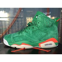 Nike Air Jordan 6 Retro Gatorade NRG G8RD Men Sneakers AJ5986-335 Women Sports Shoes