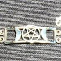 Triple Moon Pentagram Bracelet at Every Witch Way Online Shop