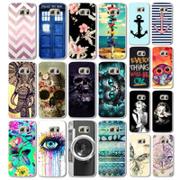 Cute Animal Colorful Retro Cartoon Plastic Flip marilyn monroe Case for Samsung Galaxy S6 Phone Cases Cover