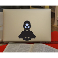 "The Last Airbender Avatar Anime Computer Laptop Decal Sticker for MacBook Air/Pro/Retina 11"" 12"" 13"" 15"" Cover Skin on Notebook"