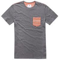 On The Byas Milton Contrast Pocket Tee at PacSun.com