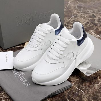 Alexander McQueen Coloured Broad Sports Shoes