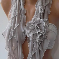 NEW - VANILLA  Elegant Scarf  Gorgeous  Accessories....It made with good quality chiffon fabric 2013