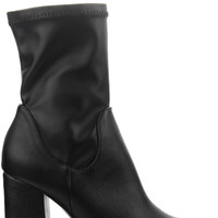 Victoria Ankle Boots - Black