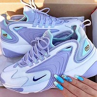 Nike Zoom 2K Fashion Women Casual Running Sneakers Sport Shoes Purple