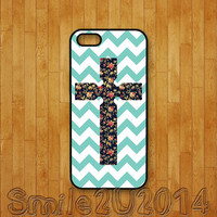 iphone 5C case,green chevron,floral cross,iphone 5S case,iphone 5 case,iphone 4 case,iphone 4S case,ipod 4 case,ipod 5 case,ipod case