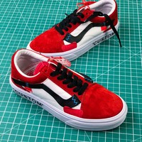 Off White X Vans Vault Og Style 36 Custom Shoes - Best Online Sale