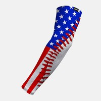 Baseball Lace USA Arm Sleeve