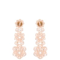 Floral bead-embellished drop earrings | Simone Rocha | MATCHESFASHION.COM