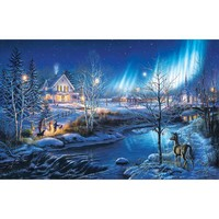 All is Bright Christmas Jigsaw Puzzle - Puzzle Haven
