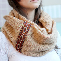 By(knitscarf)KnitScarf.a34WithTribalLace,Inf...
