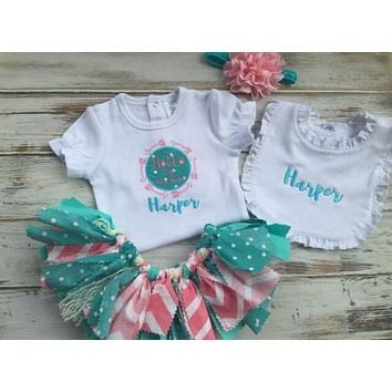 baby burp cloth coming home outfit baby blanket baby gift set personalized baby gift monogram layette set take home outfit baby gown