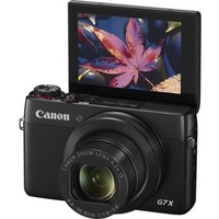 Canon - PowerShot G7 X 20.2-Megapixel Digital Camera - Black