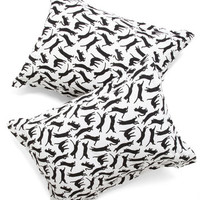 Cats Yours, Mine, and Noir's Pillow Sham Set by ModCloth
