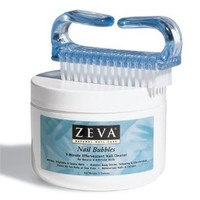 Zeva Nail Bubbles with Nail Brush - Nail Whitening Formula. Note: Product now shipped in 15 Individual Packets.