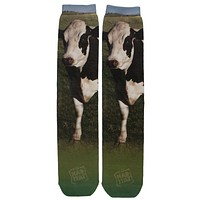 Cow Sublimated Socks