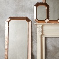 Sculpted Beaumont Mirror by Anthropologie