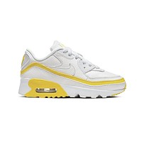 Nike Air Max 90 Undefeated White Opti Yellow (PS)