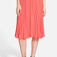 Women's cupcakes and cashmere 'Santa Ana' Pleated Skirt,