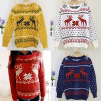 Long Sleeve Knitted Jumper Women Sweater Knitwear Loose Pullover Ladies Tops  F_F = 1902358084