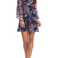 As U Wish Tie Back Swing Dress