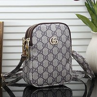 Louis Vuitton LV Woman Men Fashion Leather Crossbody Shoulder Bag Satchel