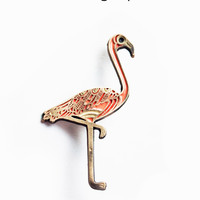 Flamingo Pin - Pink Flamingo Enamel Pin by boygirlparty