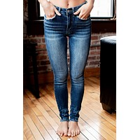 KanCan Samantha Medium Wash Skinnies