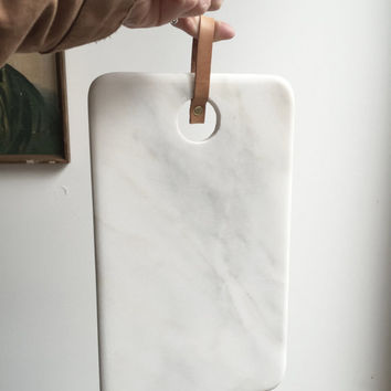White Marble cutting board