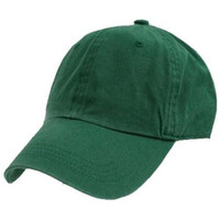 Decky Polo Style Adjustable Unstructured Low Profile Baseball Cap (One Size, Forest Green)