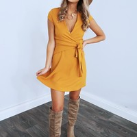 Looking For Fun Dress: Mustard