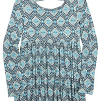 PRINTED BABYDOLL TOP   GIRLS FASHION TOPS TOPS   SHOP JUSTICE