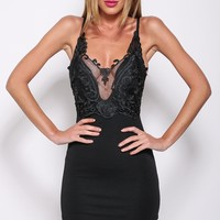 Here With Me Dress Black