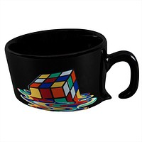 Rubik's Cube - Cube Melted Coffee Mug
