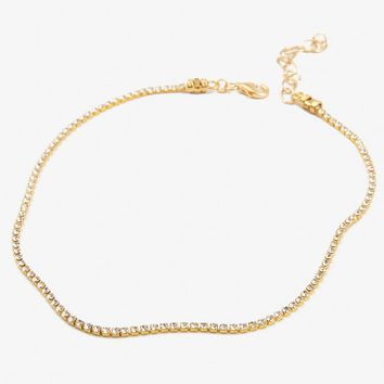 If You Had My Love Choker - Gold