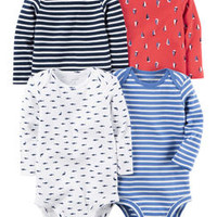 Baby Boy One-Piece Bodysuits, Multi-Pack Bodysuits | Carter's | Free Shipping