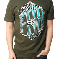 Fox Racing Men's The Scoop Short Sleeve Graphic T-Shirt