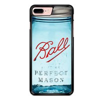 Ball Mason Jar Vintage Glass Red iPhone 7 Plus Case